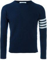 Thom Browne striped sleeve jumper