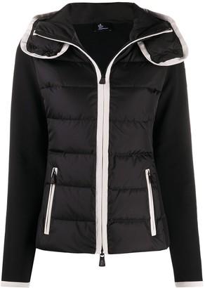 MONCLER GRENOBLE Contrasting Trim Padded Jacket