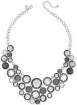 INC International Concepts Multi-Stone Bubble Statement Necklace, Only at Macy's