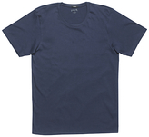 Denham Tubular Crew Short Sleeve T-shirt, Navy