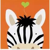 Art.com Peek-a-Boo Zebra