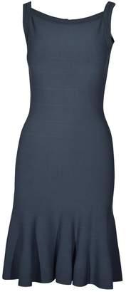 Alaia Anthracite Viscose Dresses