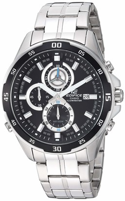 Casio Men's Edifice Quartz Stainless-Steel Strap Two Tone 22 Casual Watch (Model: EFR-547D-1AVUEF)