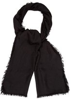 Givenchy Leopard Wool Scarf