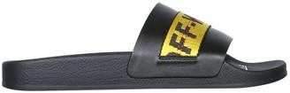 Off-White Slide Sandals