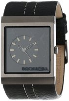 Rockwell Time Unisex MC105 Mercedes Black Leather and Black Watch