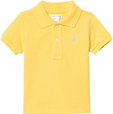 Ralph Lauren Yellow Pique Polo with Small PP