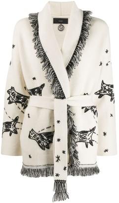Alanui Embroidered Cardi Coat