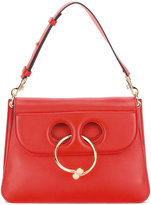 J.W.Anderson Medium Red Pierce Shoulder Bag - women - Calf Leather - One Size