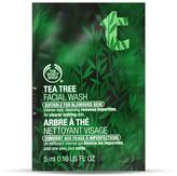The Body Shop Tea Tree Facial Wash Sample