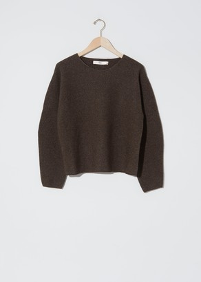 Arch The Cashmere & Wool Round Neck Sweater