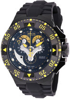 50mm watches for men shopstyle uk invicta men s chronograph reserve excursion black polyurethane strap watch 50mm 18556