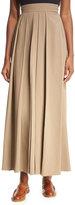 The Row Skannt Belted Wide-Leg Pants, Medium Brown