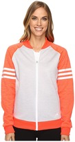 adidas Team Issue Fleece Baseball Jacket