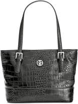Giani Bernini Croc-Embossed Tote, Created for Macy's