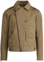 Polo Ralph Lauren Water-Repellent Moto Jacket