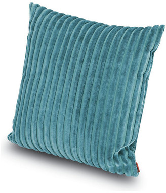 "Missoni Home Rabat Throw Pillow, Peacock Blue, 16""x16"""