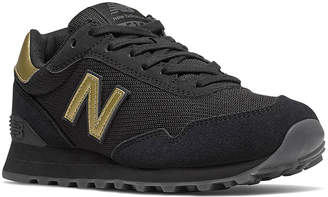 New Balance Women's Sneakers BLack - Black & Gold Round-Toe Sneaker - Women