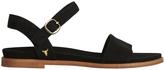 Windsor Smith Bae Black Suede Sandal
