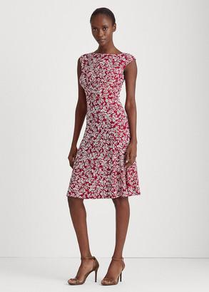 Ralph Lauren Floral Matte-Jersey Dress