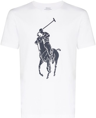 Polo Ralph Lauren large logo print T-shirt