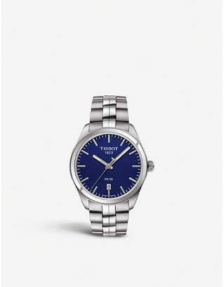 Tissot T101.410.11.041.00 PR 100 stainless steel watch, Women's, stainless steel