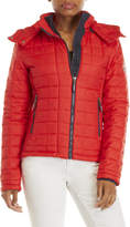 Superdry Hooded Box Quilt Jacket