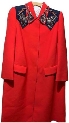 Miu Miu Red Coat for Women