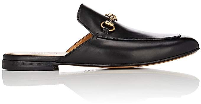 Gucci Men's Kings Leather Mules