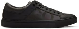 HUGO BOSS Black Low Futurist Tennis Sneakers