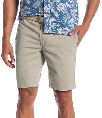 Tailor Vintage Men's Modern Slim Stretch TwillWalking Shorts