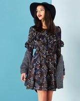 Yumi Ruffle Dress