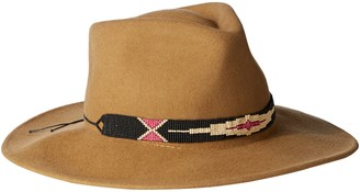 Ale By Alessandra Women's Taos Adjustable Felt Hat with Beaded Trim