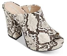 Kenneth Cole Women's Gracen Platform Mule Sandals