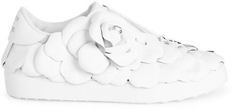Valentino Atelier 03 Rose Edition Leather Sneakers