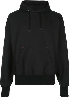 Takahiromiyashita The Soloist textured style hoodie