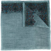 Faliero Sarti embroidered scarf - women - Polyester/Viscose/Wool - One Size