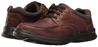 Clarks Cotrell Edge (Tobacco Oily Leather) Men's Shoes