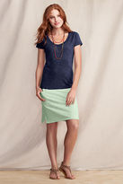 Lands' End Canvas Women's French Terry Colorblock Dress