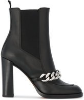 Givenchy Leather Biker 105 Ankle Boots