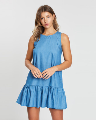 Atmos & Here Lilly Chambray Dress