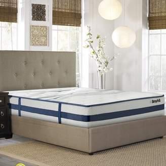"Broyhill® Cooling Gel Memory Foam 11"" Firm Hybrid Mattress Broyhill® Mattress Size: Twin XL"