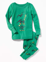Old Navy Dinosaur-Graphic Sleep Set for Toddler & Baby