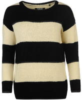 Firetrap Blackseal Stripe Knit Jumper