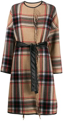 Pinko Costa blanket coat
