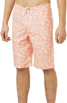 Topman Men's Palm Print Board Shorts