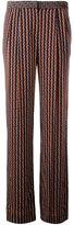 Diane von Furstenberg 'Campbell' straight trousers - women - Silk/Polyester/Spandex/Elastane - 8