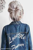 Forever 21 FOREVER 21+ Love Me Forever Denim Jacket