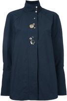 Ellery studded buttons shirt
