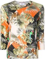 Blugirl jungle print T-shirt
